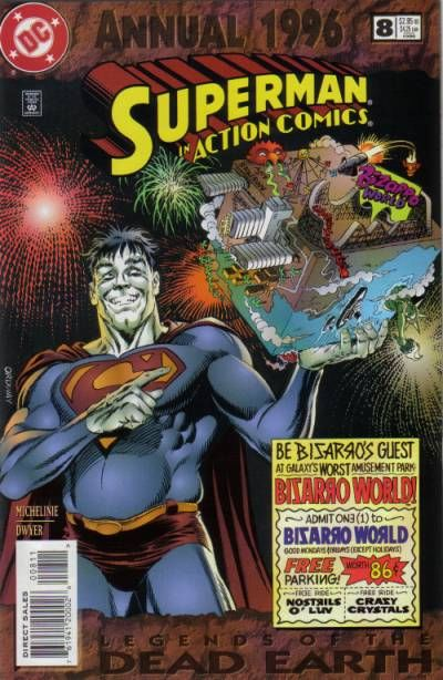 Cover for Action Comics Annual (DC, 1987 series) #8