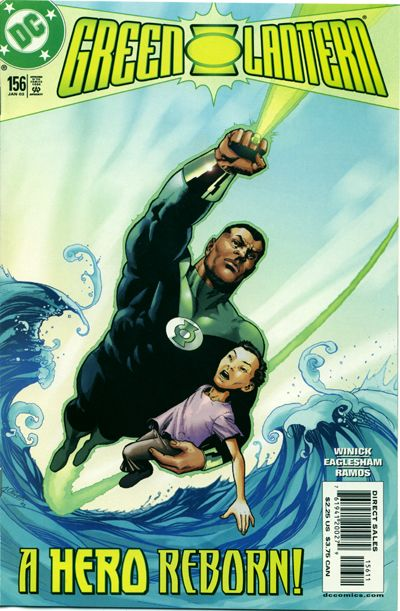 Cover for Green Lantern (DC, 1990 series) #156