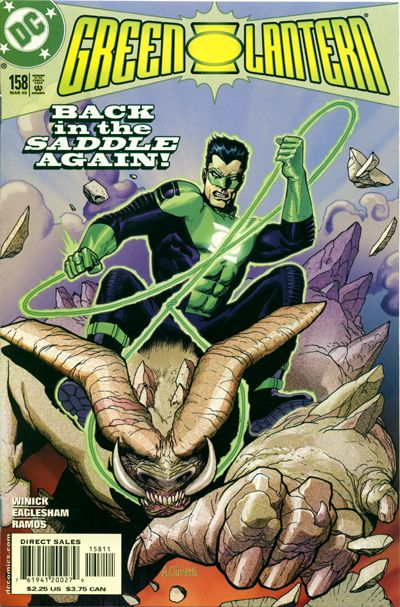 Cover for Green Lantern (DC, 1990 series) #158