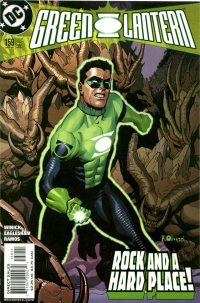 Cover for Green Lantern (DC, 1990 series) #159 [Direct Sales]
