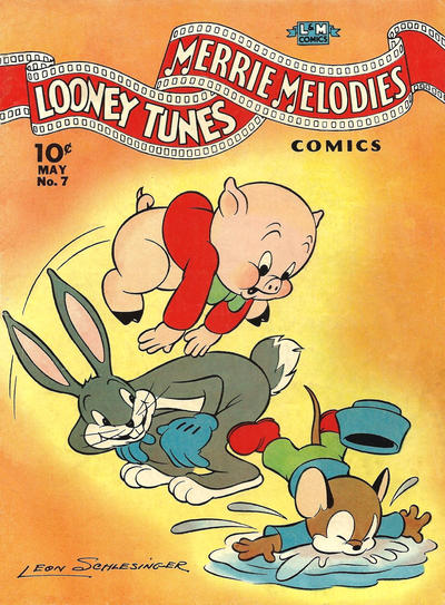 Cover for Looney Tunes and Merrie Melodies Comics (Dell, 1941 series) #7