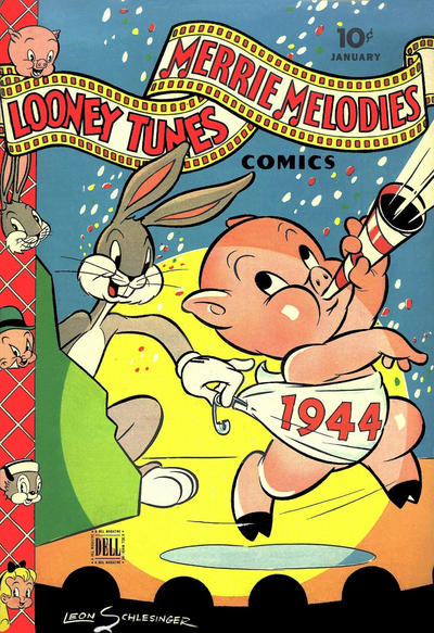 Cover for Looney Tunes and Merrie Melodies Comics (Dell, 1941 series) #27