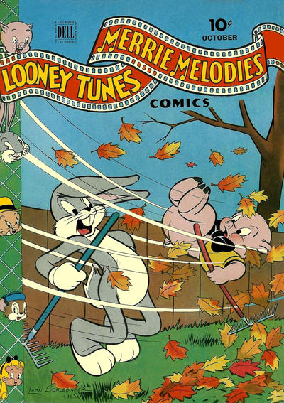 Cover for Looney Tunes and Merrie Melodies Comics (Dell, 1941 series) #36