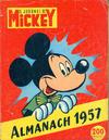 Cover for Almanach du Journal de Mickey (Hachette, 1956 series) #1957