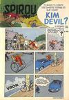 Cover for Spirou (Dupuis, 1947 series) #858