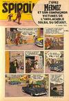 Cover for Spirou (Dupuis, 1947 series) #883