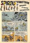 Cover for Spirou (Dupuis, 1947 series) #888