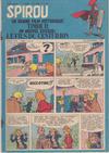 Cover for Spirou (Dupuis, 1947 series) #971
