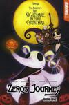 Cover for Disney Tim Burton's the Nightmare Before Christmas: Zero's Journey Graphic Novel (Tokyopop, 2018 series) #1 [Main Cover]