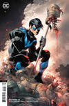 Cover for Nightwing (DC, 2016 series) #45 [John Romita Jr., Danny Miki & Tomeu Morey Variant Cover]