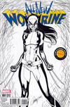 Cover Thumbnail for All-New Wolverine (2016 series) #1 [Cargo Hold Exclusive J. Scott Campbell Black and White Variant]