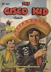 Cover for Cisco Kid (World Distributors, 1952 series) #47