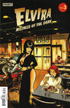 Cover for Elvira: Mistress of the Dark (Dynamite Entertainment, 2018 series) #3 [Cover C Robert Hack]