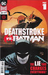 Cover for Deathstroke (DC, 2016 series) #30 [Second Printing]