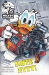 Cover for Donald Duck Tema pocket; Walt Disney's Tema pocket (Hjemmet / Egmont, 1997 series) #[106] - Siste nytt!