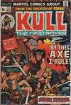 Cover for Kull the Destroyer (Marvel, 1973 series) #11 [British]
