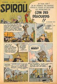 Cover Thumbnail for Spirou (Dupuis, 1947 series) #828