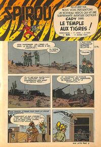 Cover Thumbnail for Spirou (Dupuis, 1947 series) #830