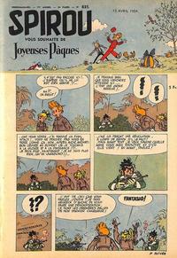Cover Thumbnail for Spirou (Dupuis, 1947 series) #835