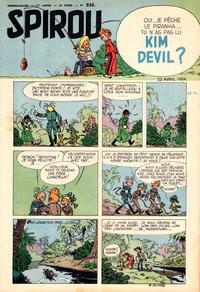 Cover Thumbnail for Spirou (Dupuis, 1947 series) #836