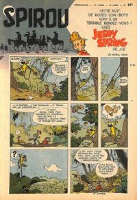 Cover Thumbnail for Spirou (Dupuis, 1947 series) #837