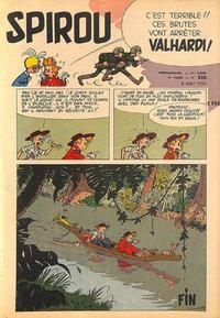 Cover Thumbnail for Spirou (Dupuis, 1947 series) #838
