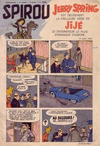 Cover Thumbnail for Spirou (Dupuis, 1947 series) #843