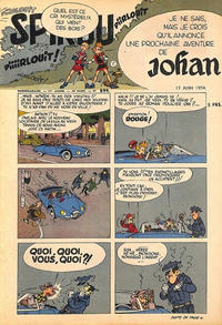 Cover Thumbnail for Spirou (Dupuis, 1947 series) #844