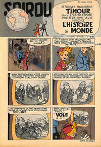 Cover Thumbnail for Spirou (Dupuis, 1947 series) #845