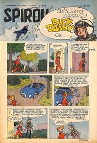Cover Thumbnail for Spirou (Dupuis, 1947 series) #846