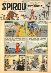 Cover Thumbnail for Spirou (Dupuis, 1947 series) #852