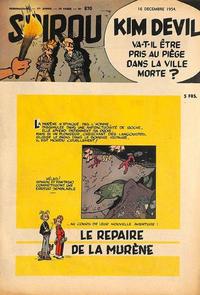 Cover Thumbnail for Spirou (Dupuis, 1947 series) #870