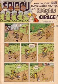 Cover Thumbnail for Spirou (Dupuis, 1947 series) #872