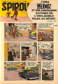 Cover Thumbnail for Spirou (Dupuis, 1947 series) #883