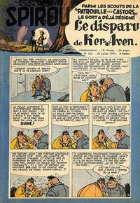 Cover Thumbnail for Spirou (Dupuis, 1947 series) #902