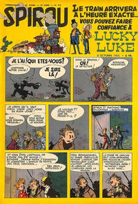 Cover Thumbnail for Spirou (Dupuis, 1947 series) #912