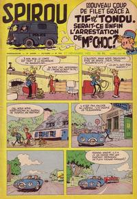 Cover Thumbnail for Spirou (Dupuis, 1947 series) #918