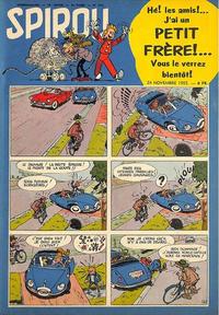 Cover Thumbnail for Spirou (Dupuis, 1947 series) #919