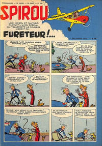 Cover Thumbnail for Spirou (Dupuis, 1947 series) #920
