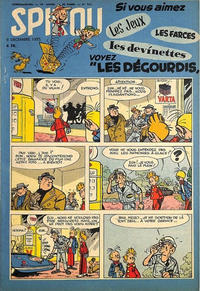 Cover Thumbnail for Spirou (Dupuis, 1947 series) #921