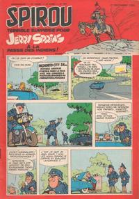Cover Thumbnail for Spirou (Dupuis, 1947 series) #922