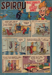 Cover Thumbnail for Spirou (Dupuis, 1947 series) #925