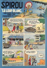 Cover Thumbnail for Spirou (Dupuis, 1947 series) #930