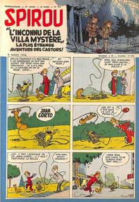 Cover Thumbnail for Spirou (Dupuis, 1947 series) #934