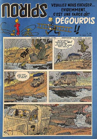 Cover Thumbnail for Spirou (Dupuis, 1947 series) #946