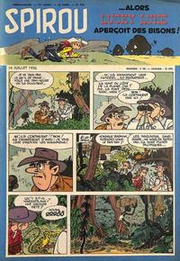 Cover Thumbnail for Spirou (Dupuis, 1947 series) #953