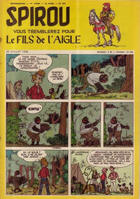 Cover Thumbnail for Spirou (Dupuis, 1947 series) #954