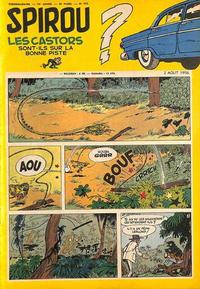 Cover Thumbnail for Spirou (Dupuis, 1947 series) #955