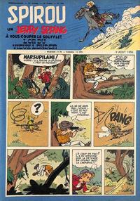 Cover Thumbnail for Spirou (Dupuis, 1947 series) #956