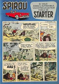 Cover Thumbnail for Spirou (Dupuis, 1947 series) #961